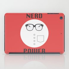 Nerd Power iPad Case