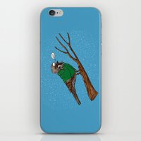 Annoyed IL Birds: The Sparrow iPhone & iPod Skin