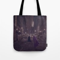 Gotham Nights Tote Bag