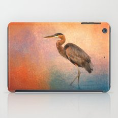 Sunset Heron iPad Case