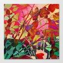 wild floral Canvas Print