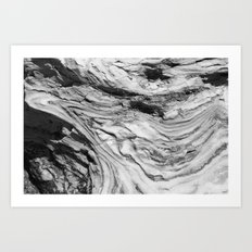 Monolithic Erosion Swirl Art Print