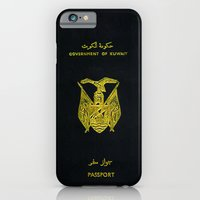 Old Kuwaiti Passport iPhone 6 Slim Case