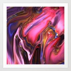 A65 Fractal Art Print