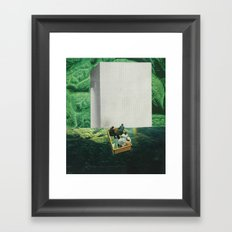 Beauty of the Ride Framed Art Print