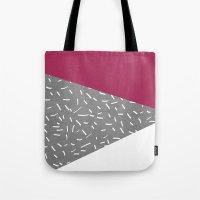 Concrete & Lines Tote Bag