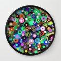In Circles Wall Clock