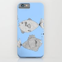 Two Fish Blue Fish iPhone 6 Slim Case