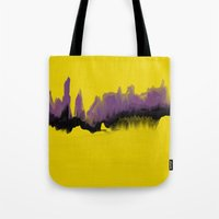 Purple Desert Tote Bag