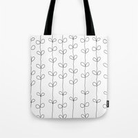 Branch Pattern Tote Bag