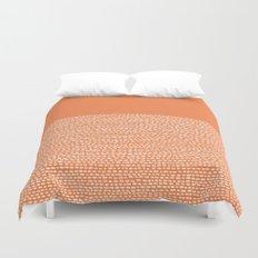 Riverside - Celosia Orange Duvet Cover