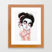 Endlessly Waiting  Framed Art Print