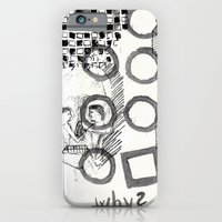 iPhone & iPod Case featuring The Chaos by heryart