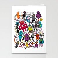Robots 2 Stationery Cards