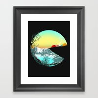 Pac camp Framed Art Print