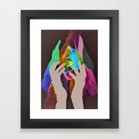 Scream My Name  Framed Art Print