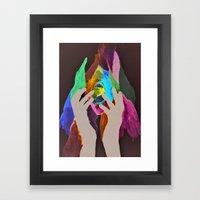 scream my name  Framed Art Print