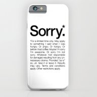 Sorry.* For A Limited Ti… iPhone 6 Slim Case