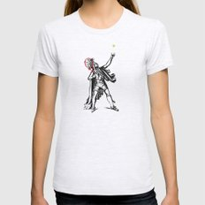 Chief of The Court Womens Fitted Tee Ash Grey SMALL