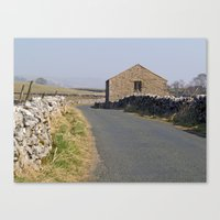 Roadside Barn Canvas Print