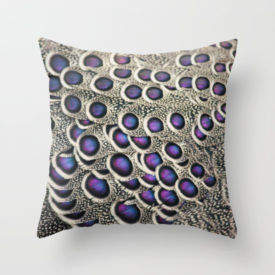 Let Your Colors Shine Throw Pillow