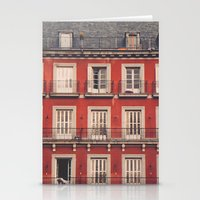 Plaza Mayor Stationery Cards