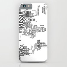 World Map - Atlas iPhone 6 Slim Case