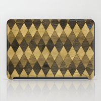 Wooden Diamonds iPad Case
