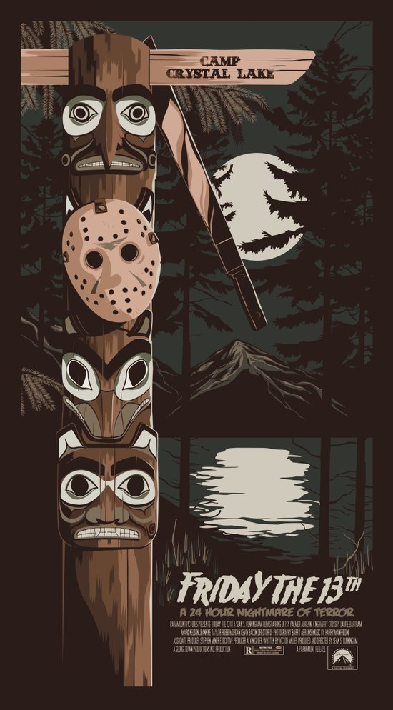 FRIDAY THE 13TH (02) Canvas Print