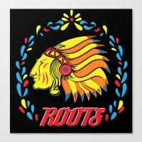 Americas Natives  Canvas Print