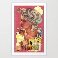The Revelry of Medusa Art Print