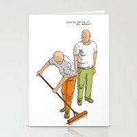 You're Doing It All Wron… Stationery Cards
