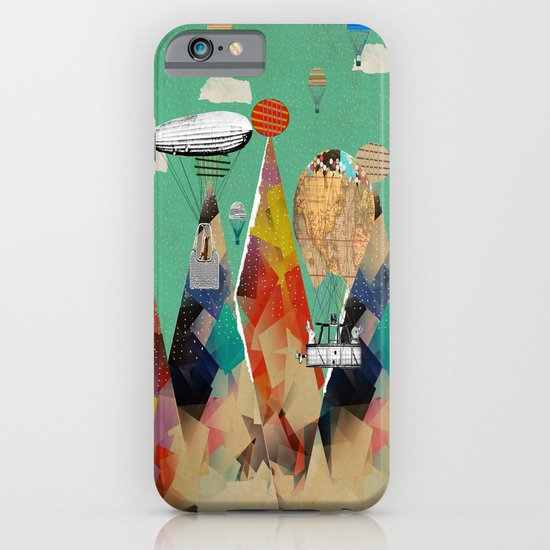 adventure days over the alps iPhone & iPod Case