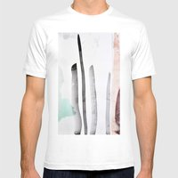 MINIMAL Mens Fitted Tee White SMALL