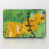 Postcard From California iPad Case