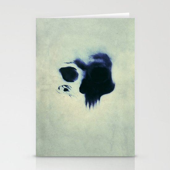 Skull Stationery Card