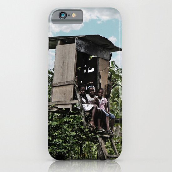Village smiles iPhone & iPod Case