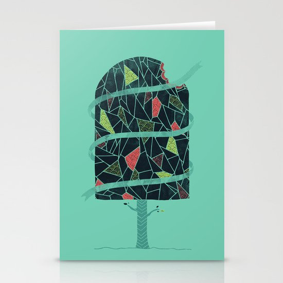 The Winter Tree Stationery Card