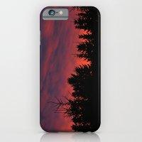 winter sunset iPhone 6 Slim Case