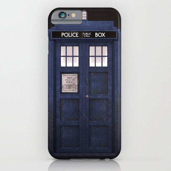 Tardis front iPhone & iPod Case