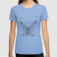 Daydreaming  Womens Fitted Tee Athletic Blue SMALL
