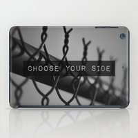 Choose Your Side iPad Case