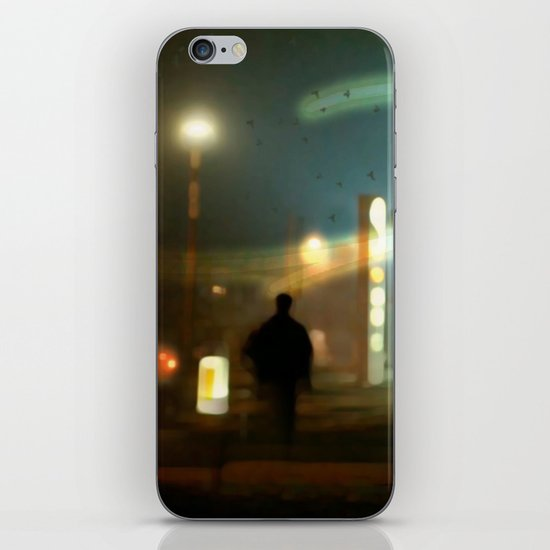 night shift iPhone & iPod Skin