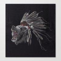 Running Bear - Updated Canvas Print