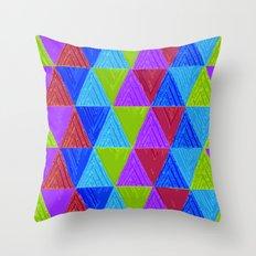 Aztec 5# Throw Pillow