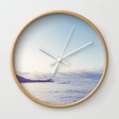 beach time ver.pink Wall Clock