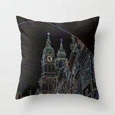 Imagining Day as Night Throw Pillow