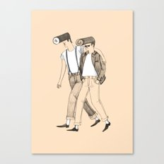 Roll bros Canvas Print