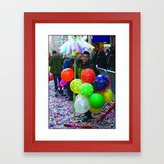 Cotton Candy Sale Framed Art Print
