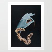 All Seeing Eye I. Art Print